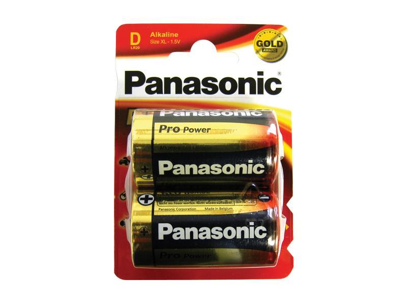 Baterie Panasonic D (R20)2ks