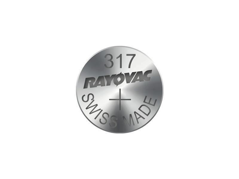 Knoflíková baterie do hodinek RAYOVAC 317