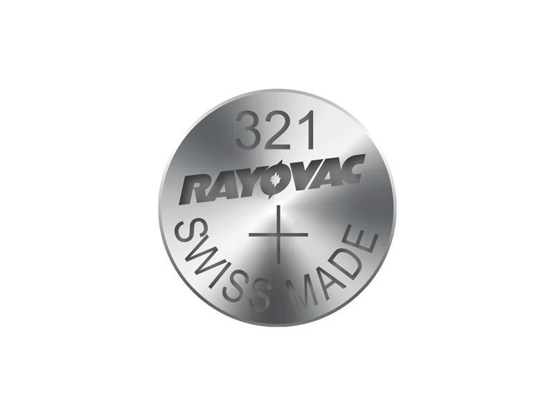 Baterie RAYOVAC 321 10ks