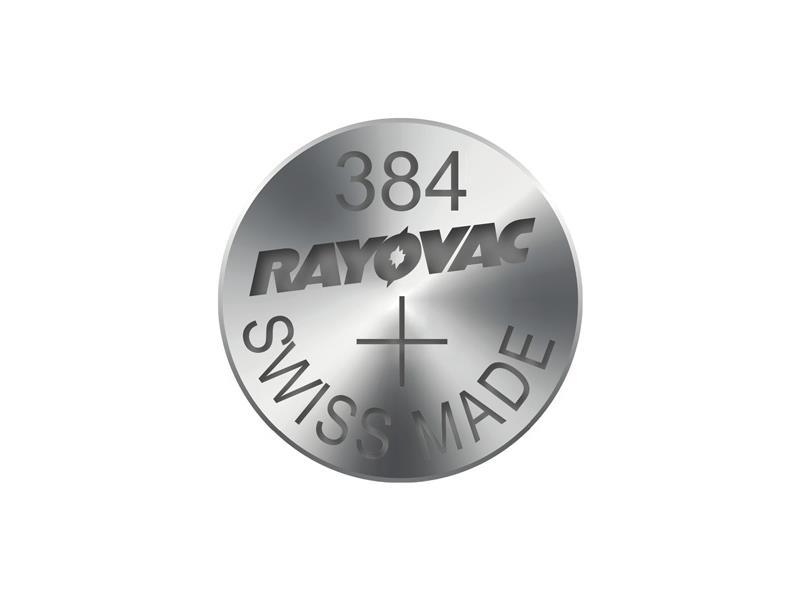 Knoflíková baterie do hodinek RAYOVAC 384