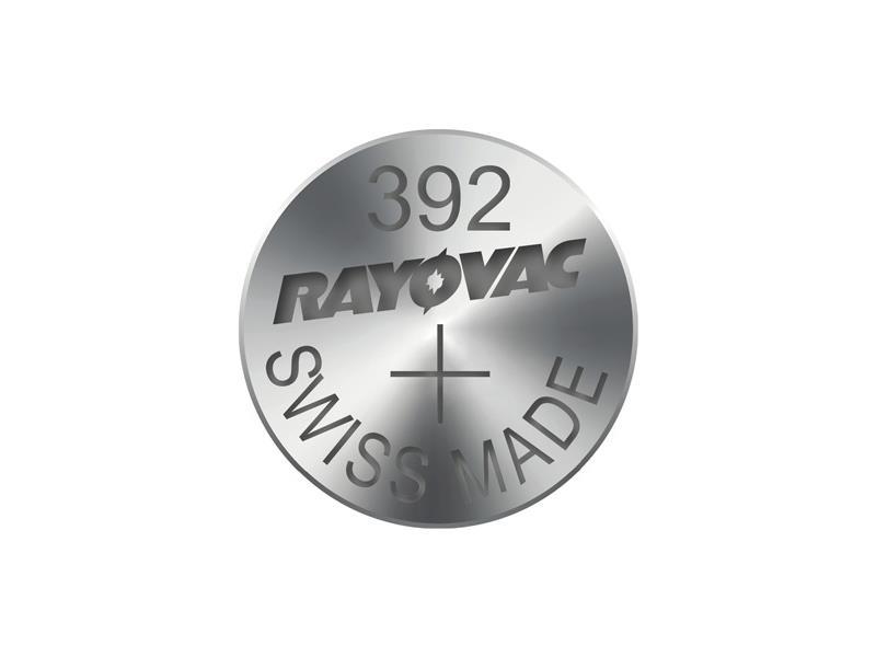 Knoflíková baterie do hodinek RAYOVAC 392