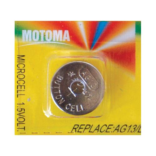 Baterie LR44 (AG13) MOTOMA alkalická