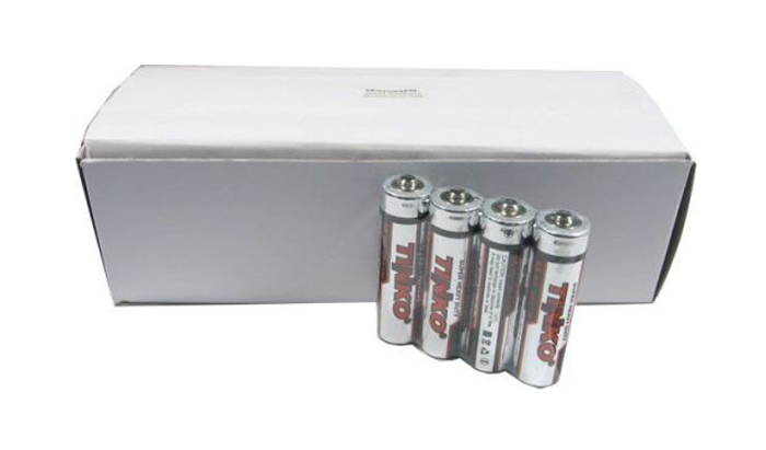 Baterie AA (R6) Zn-Cl TINKO balení 60ks