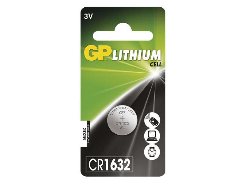 Baterie CR1632 GP lithiová
