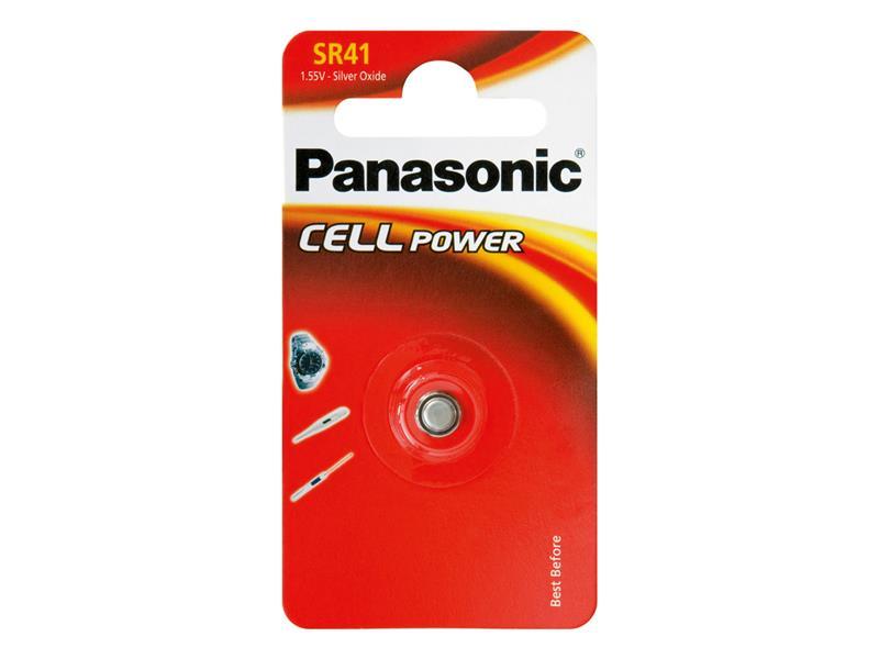 Baterie 392 PANASONIC do hodinek 1bp stříbrooxidová