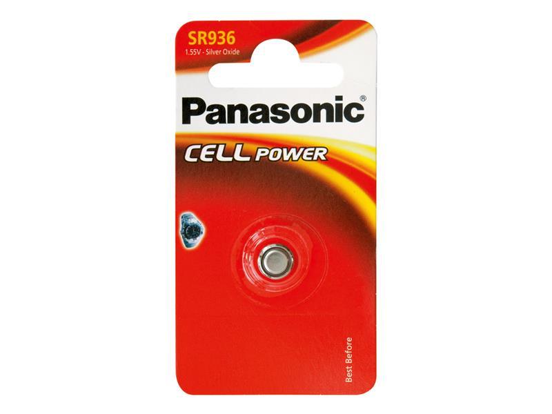 Baterie     394 PANASONIC do hodinek 1bp stříbrooxidová