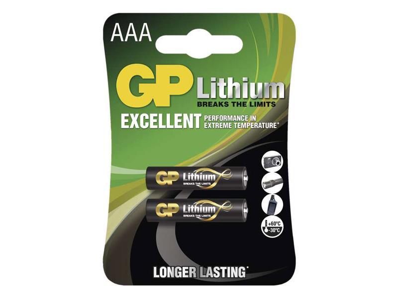 Baterie AAA (R03) lithiová  GP