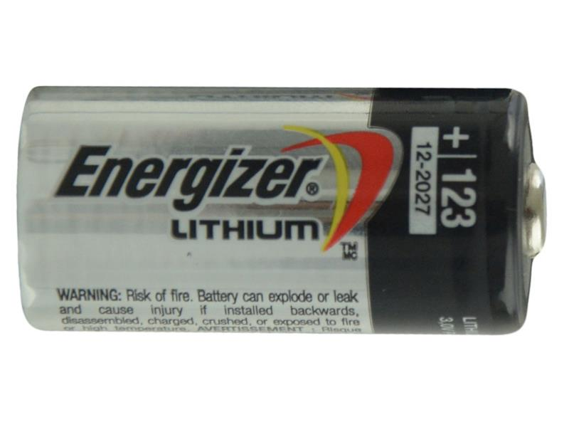 Baterie lithiová CR123A Energizer