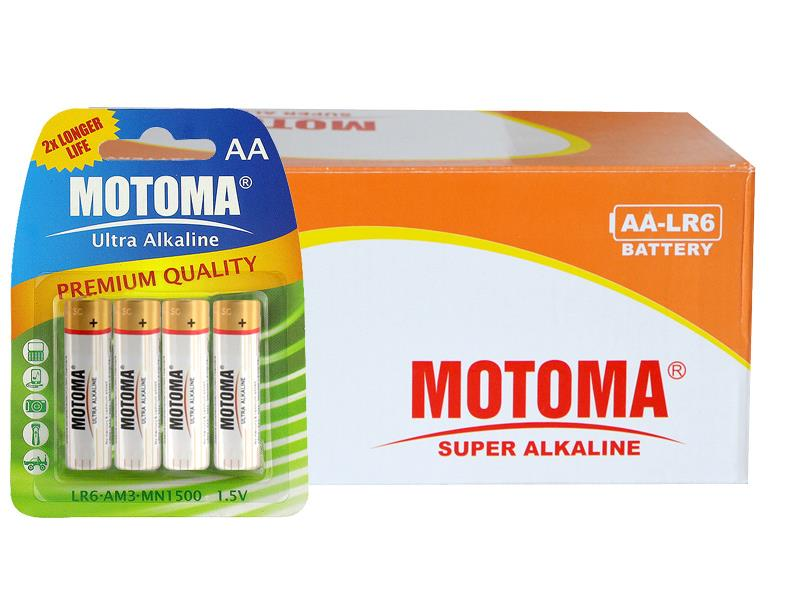 Krabice AA (LR6) Ultra Alkaline MOTOMA 96 ks