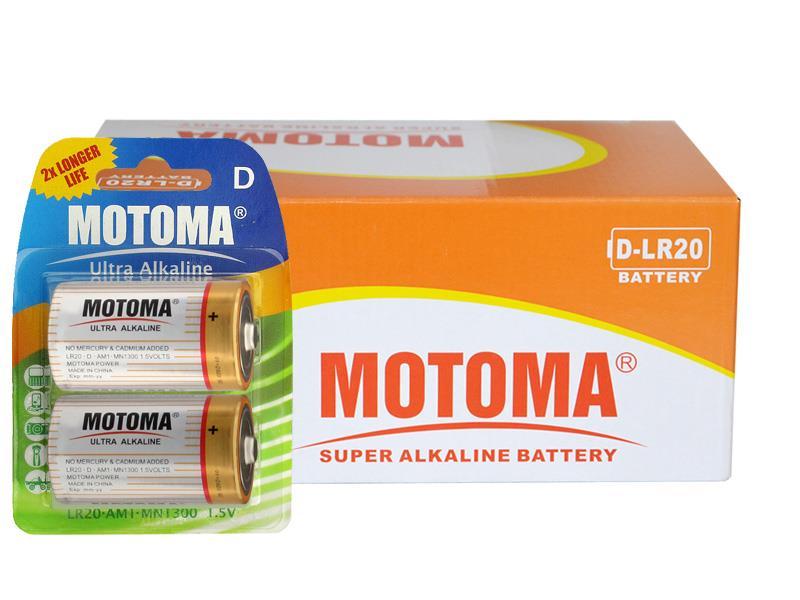Krabice D (LR20) Ultra Alkaline MOTOMA 24 ks