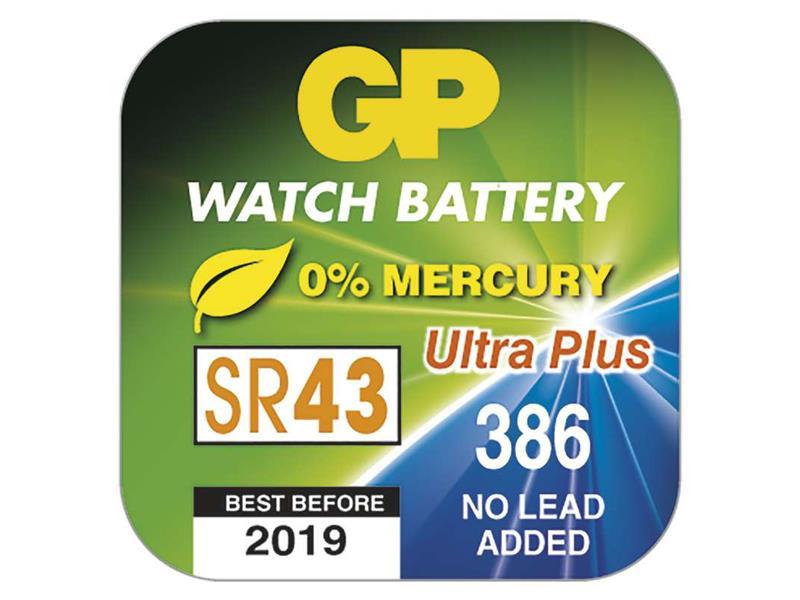 Baterie 386F GP do hodinek