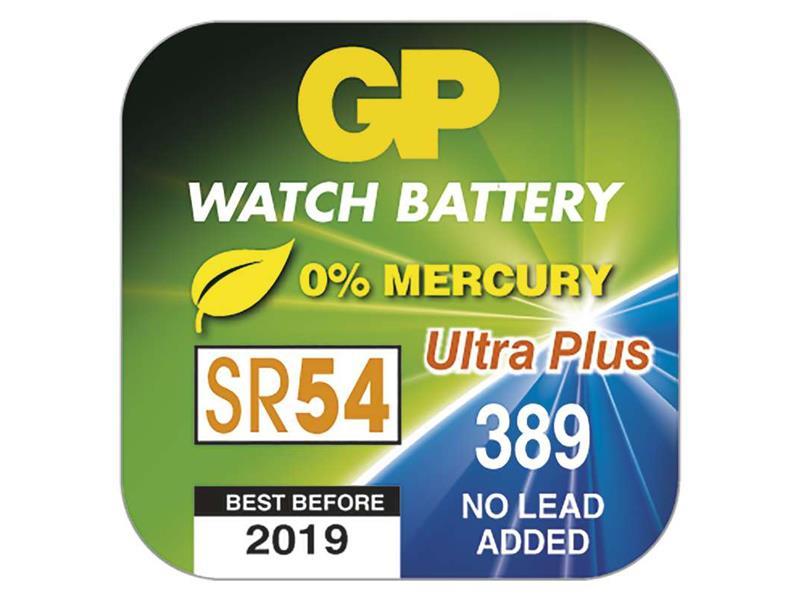 Baterie 389F GP do hodinek