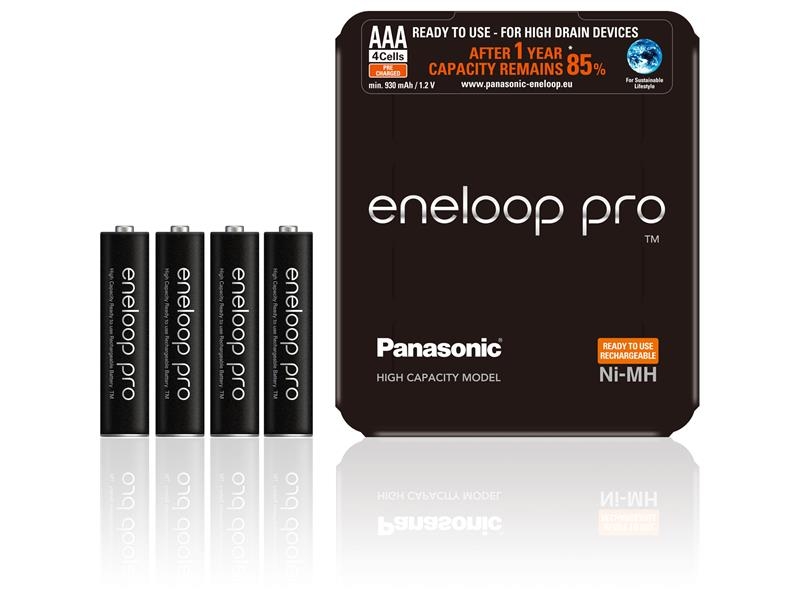 Baterie AAA (R03) nabíjecí 1,2V/930mAh Eneloop PRO Sliding P PANASONIC