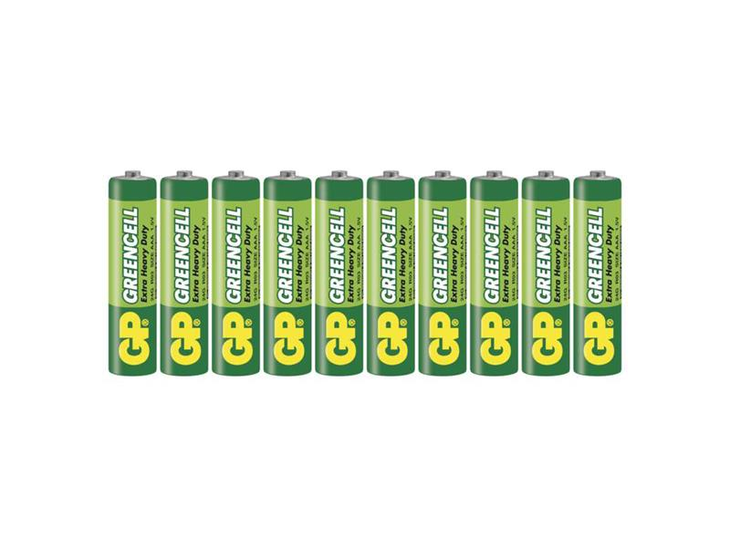 Baterie AAA (R03) Zn-Cl GP Greencell  10ks