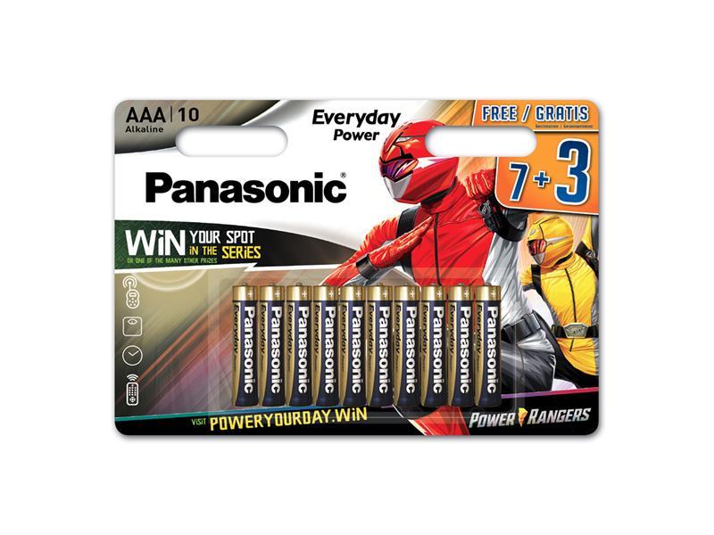 Baterie AAA (R03) alkalická PANASONIC Everyday Power 10BP