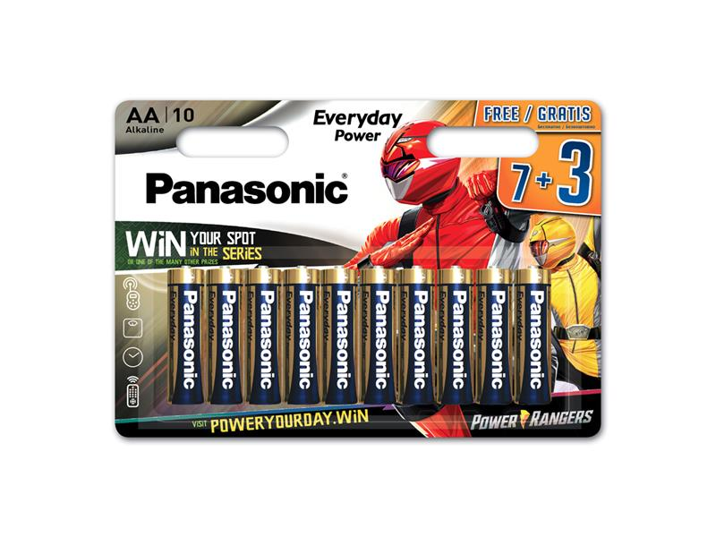 Baterie AA (R6) alkalická PANASONIC Everyday Power LR6 10BP