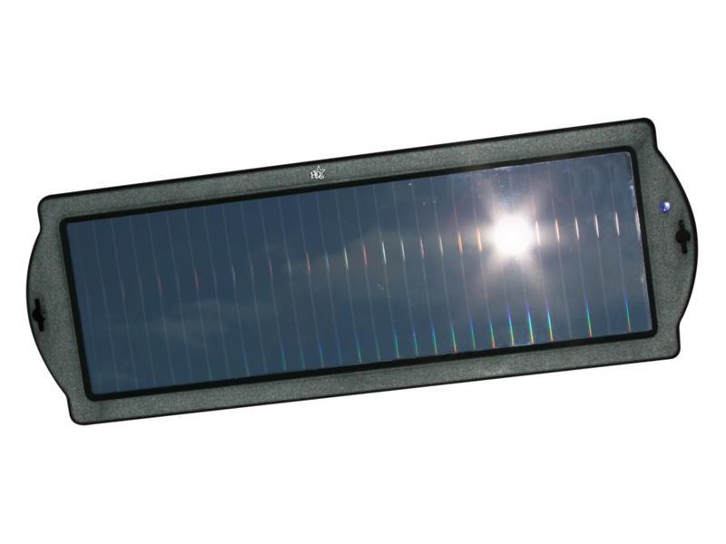 Nabíječka pro autobaterie 12V/1.5W solární HQ SOL-CHARGE01
