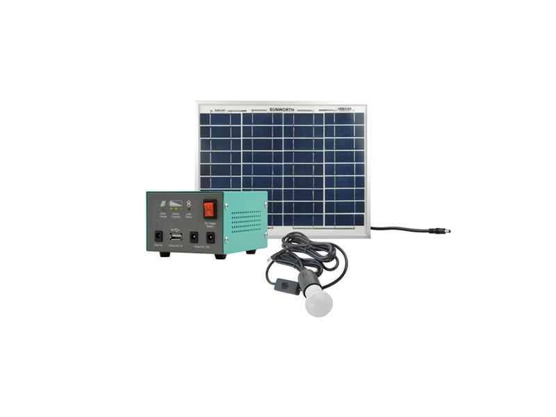 Fotovoltaický přenosný solární set MOTOMA 10W (Li-Ion)