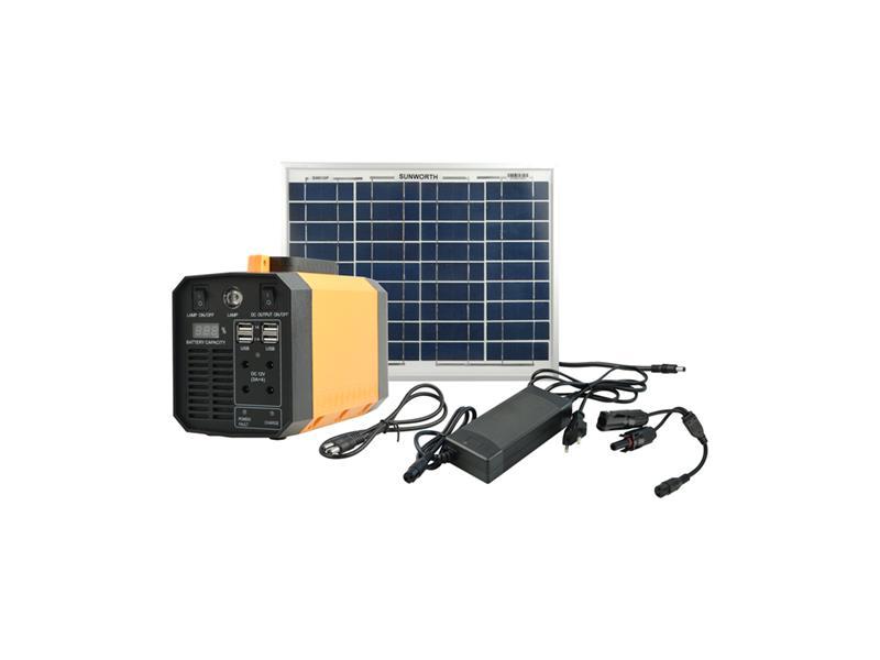 Fotovoltaický přenosný solární set MOTOMA 50W (Li-Ion)