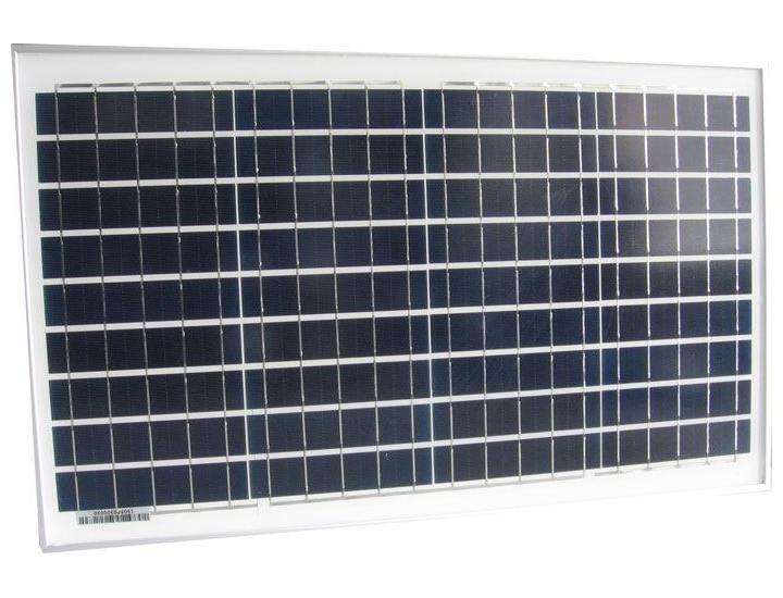Fotovoltaický solární panel 12V/30W polykrystalický