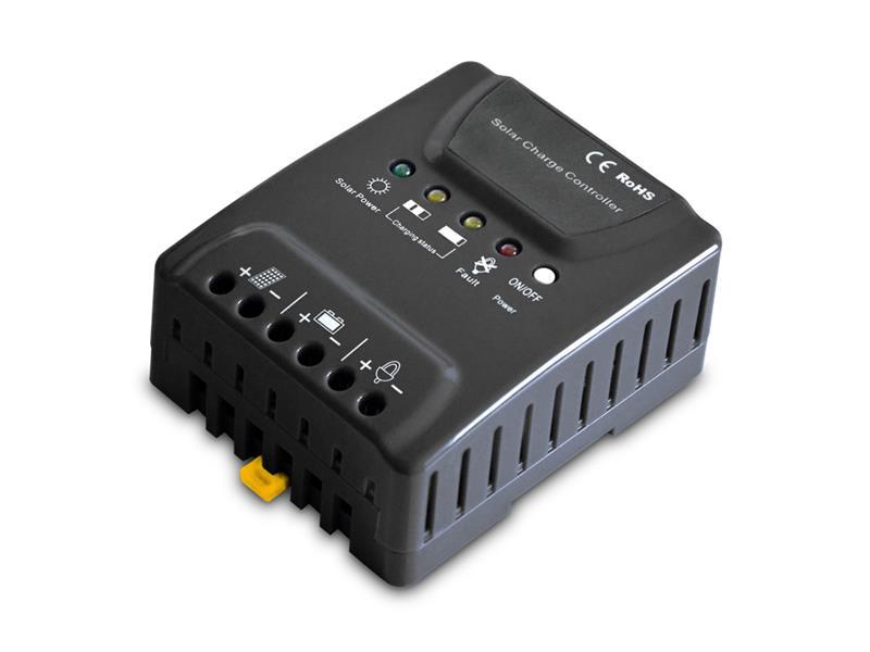 Solární regulátor PWM Geti GSR020  12-24V/20A
