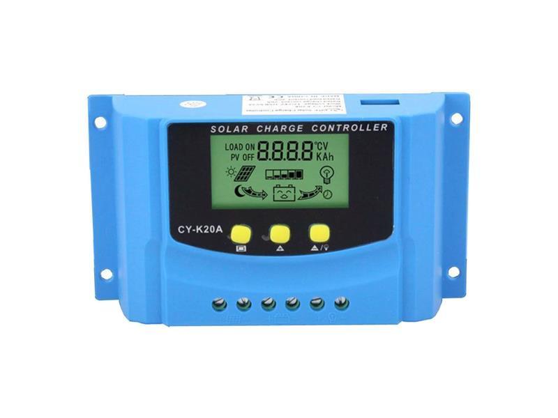 Solární regulátor PWM CY-K20A 12-24V/20A