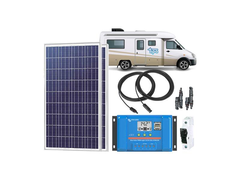 Solární sestava Karavan Victron Energy 230Wp
