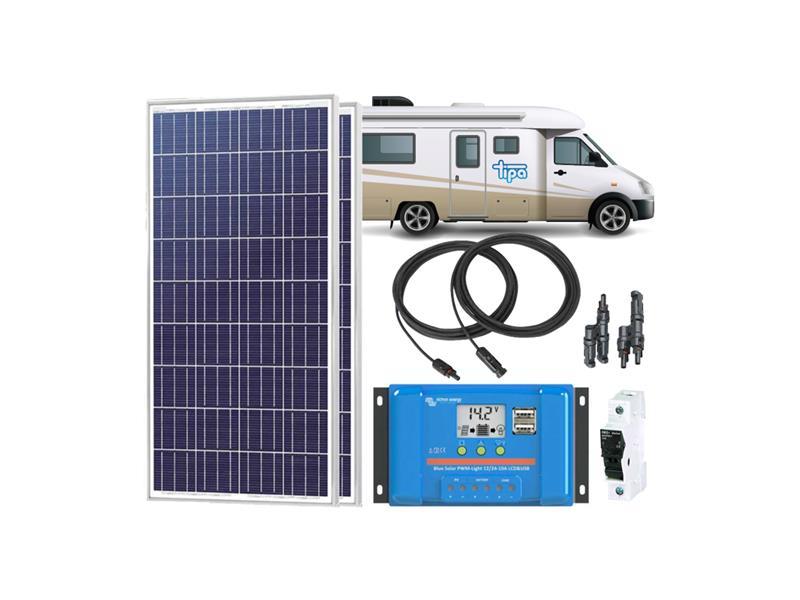 Solární sestava Karavan Victron Energy 350Wp
