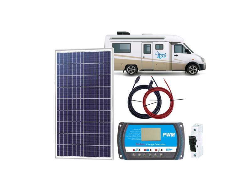 Solární sestava Karavan SOLARFAM 195Wp