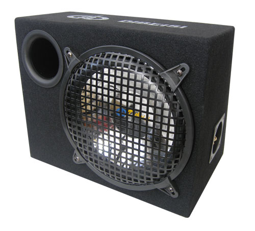 Subwoofer do auta PEIYING P1007