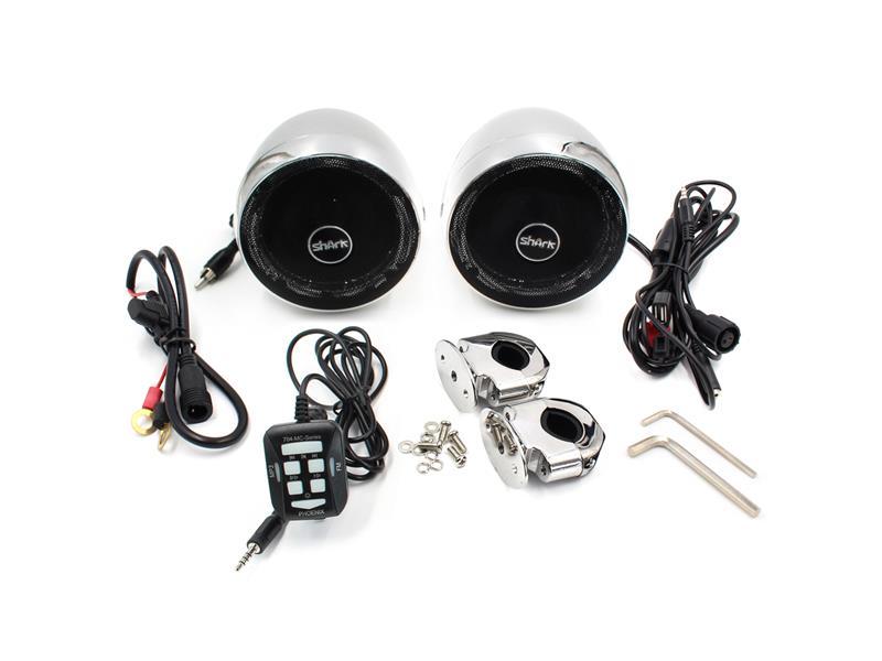 Zvukový systém s reproduktory Bluetooth STU na motocykl