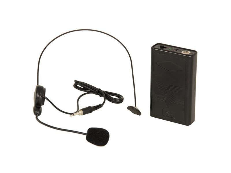 Mikrofon pro reprosoustavu IBIZA PA System  PORT15VHF-BT - headset