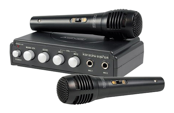 Karaoke mixer König HAV-KM11 černý