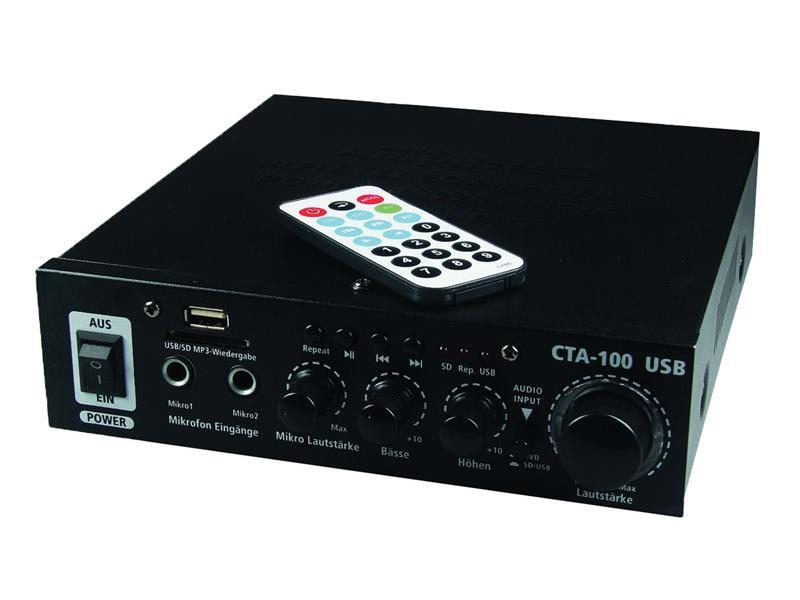 TIPA Zesilovač CTA-100/USB, 100W