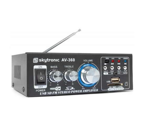 Skytec zesilovač HiFi AV360 2x 40W