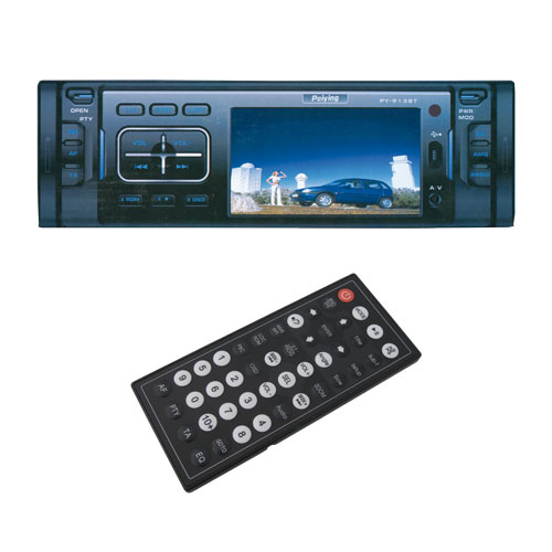 Autorádio PY-9138T TV/MP3/MP4/DIVIX/USB/SDHC/DVD