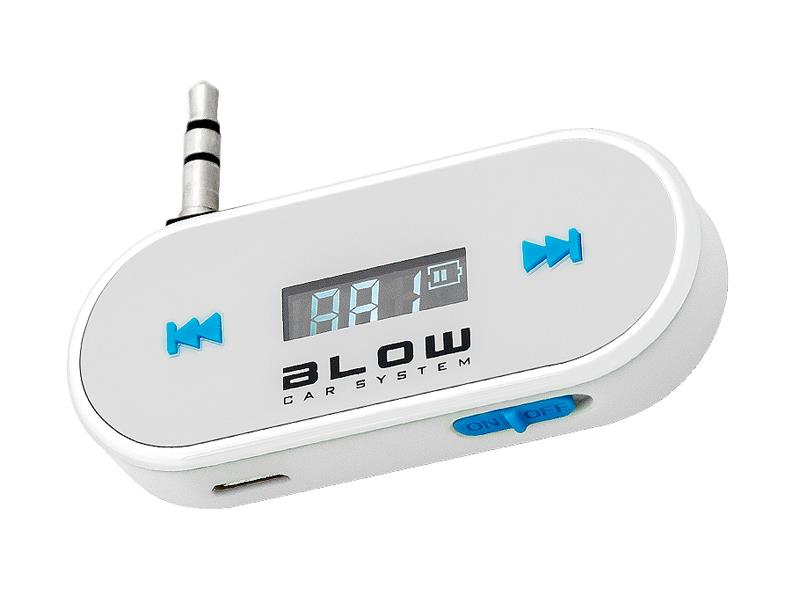 Transmitter do auta FM BLOW, 3.5 mm jack