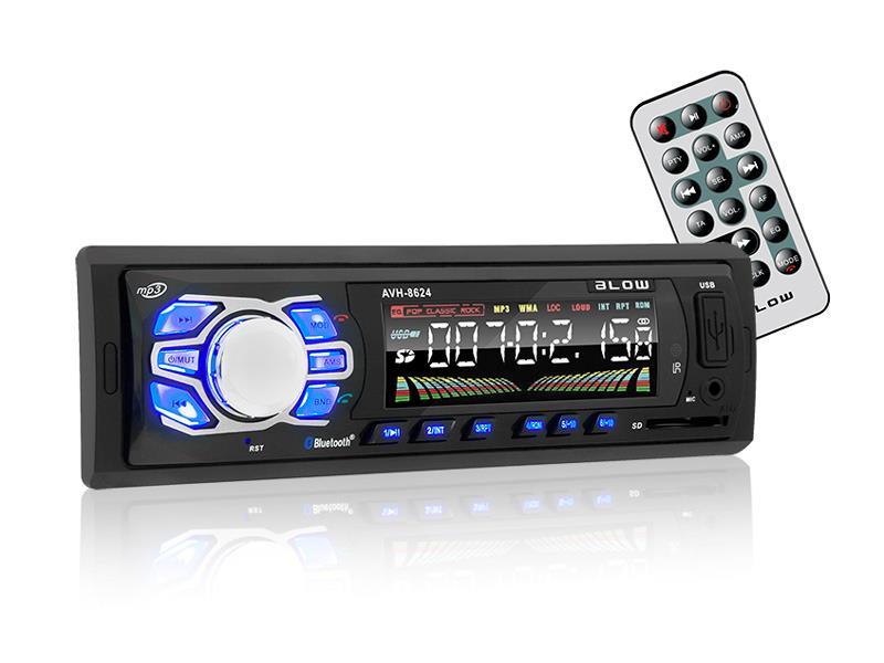 Autorádio BLOW AVH-8624 MP3, USB, SD, MMC, FM, BLUETOOTH, dálkové ovládání