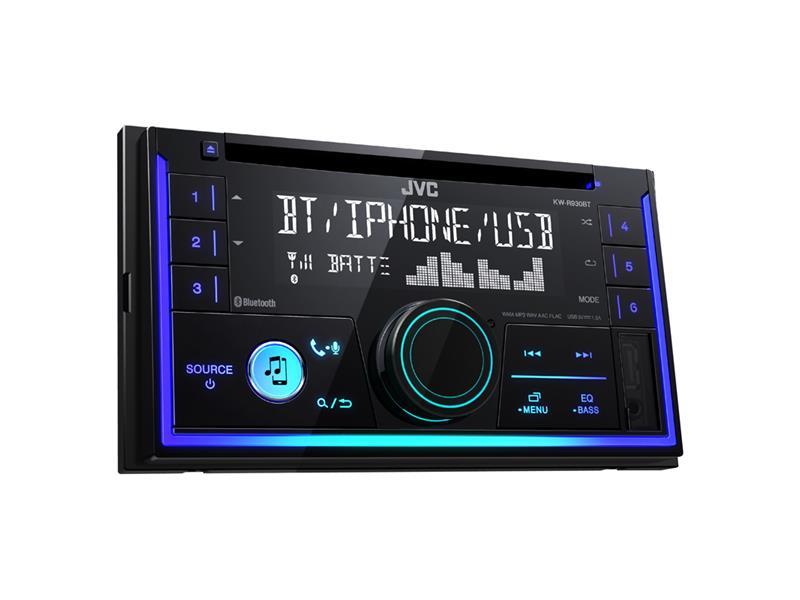 Autorádio JVC 2DIN s CD/MP3/BT KW R930BT