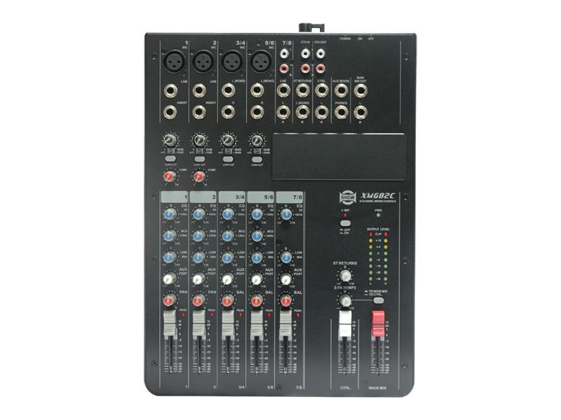 Pult mixážní SHOW XMG-82C