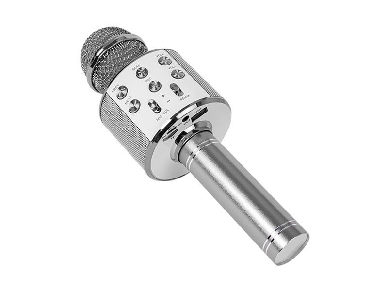 Dětský karaoke mikrofon BLOW PRM402 Silver