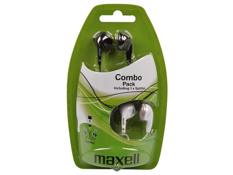 Sluchátka Maxell 303457 Combo Pack EBC2
