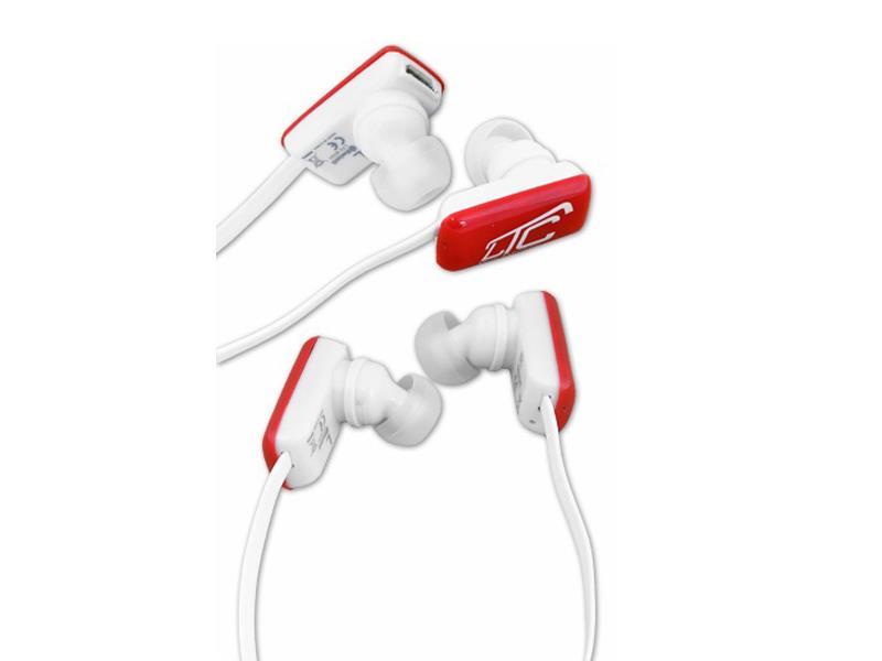 Sluchátka do uší LTC 68 BLUETOOTH červená