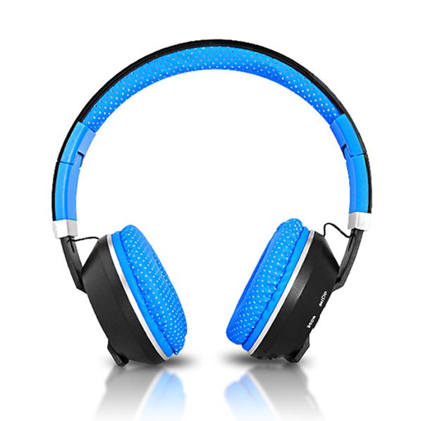 Sluchátka přes hlavu LTC MIZZO BLUETOOTH modrá