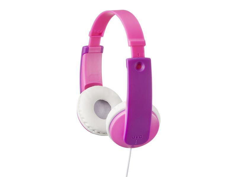 Sluchátka JVC HA KD7P, uzavřená dětská, omezovač hlasitosti