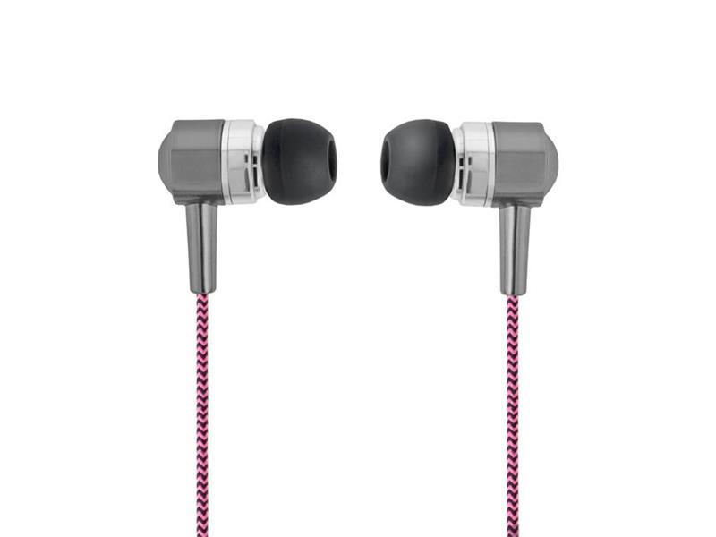 Sluchátka do uší FOREVER SE-120 růžová