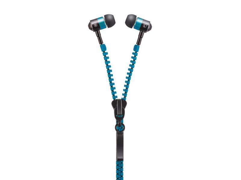 Sluchátka do uší FOREVER ZIP modrá
