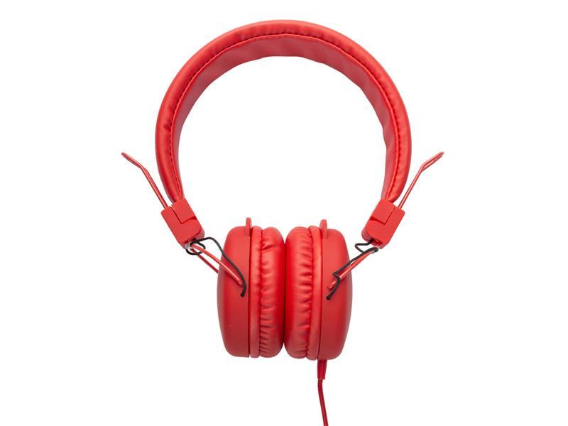 Sluchátka přes hlavu SWEEX SWHP100R červená