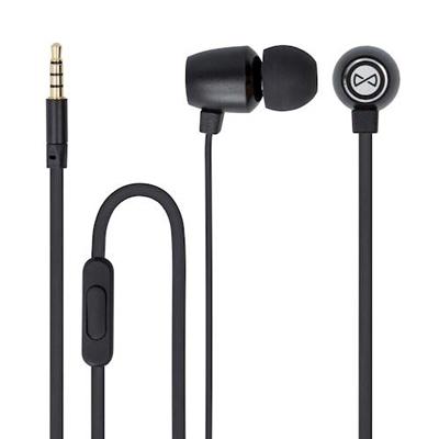 Sluchátka do uší FOREVER MSE-100 BLACK s mikrofonem