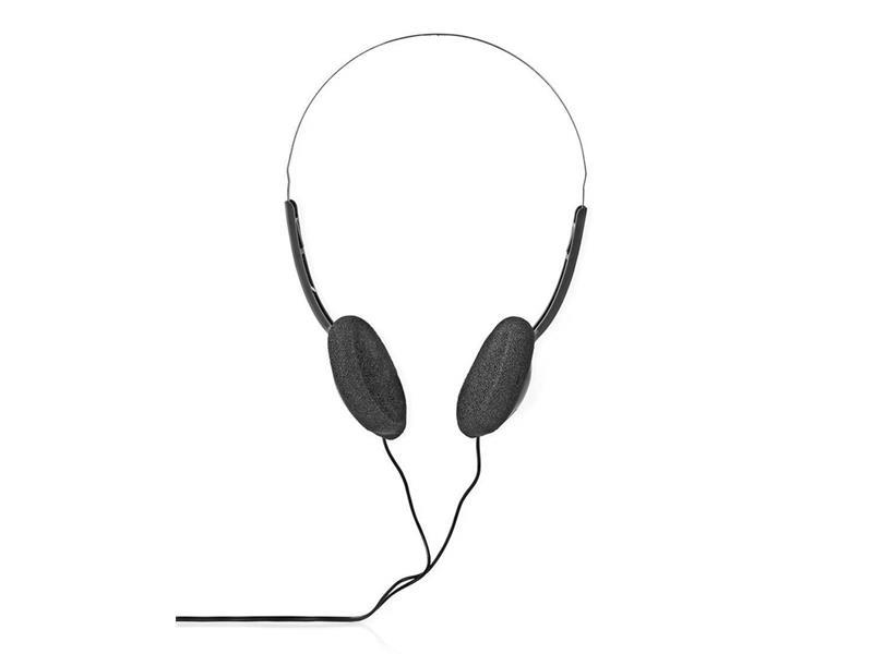 Sluchátka přes hlavu NEDIS HPWD1101BK